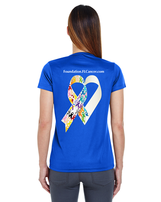 Picture of FCSF - Ladies Ribbon T-Shirts - Limited Edition