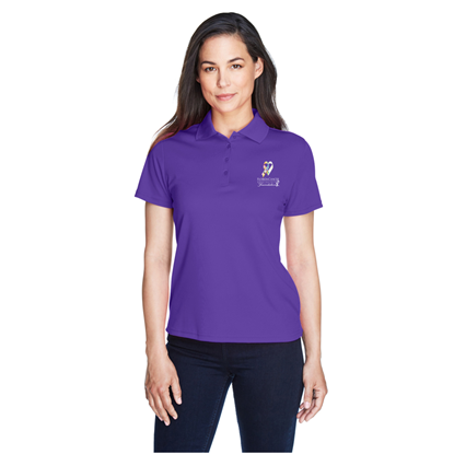 Picture of FCSF - Ladies Ribbon Polo Shirt - Limited Edition - Purple - VOLUNTEER