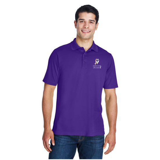 Picture of FCSF - Men's Ribbon Polo Shirt - Limited Edition - Purple